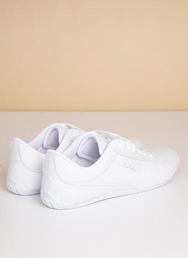 Pierre Cardin Erkek   Sneakers 176 Beyaz